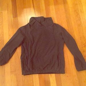 Lululemon Athletica sweater with collar sizes 8